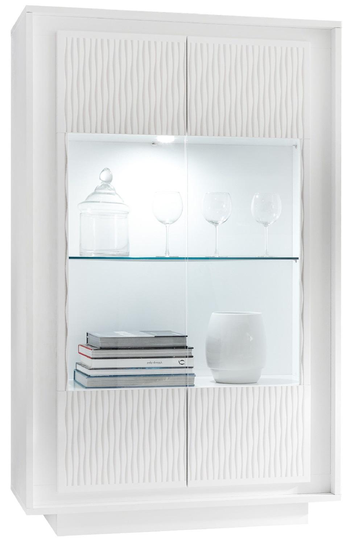 Buffetkast Malibu 171 cm hoog in wit