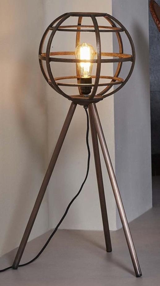 Vloerlamp Globe 83 cm hoog - Koper