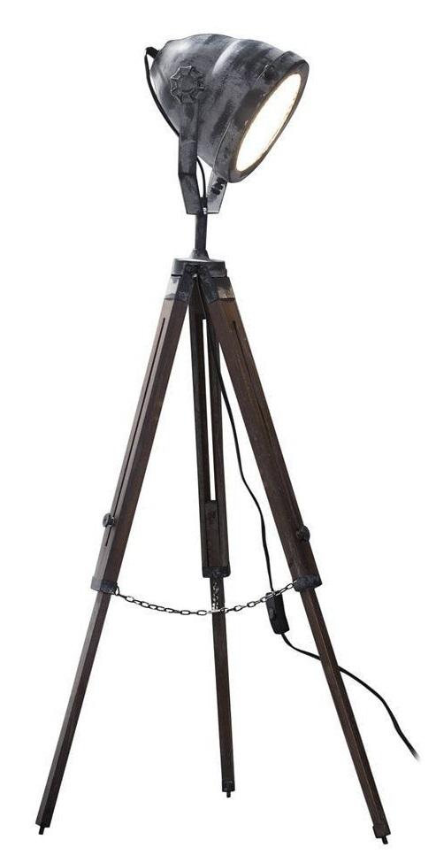 Vloerlamp Wezer 116 cm hoog – Grijs