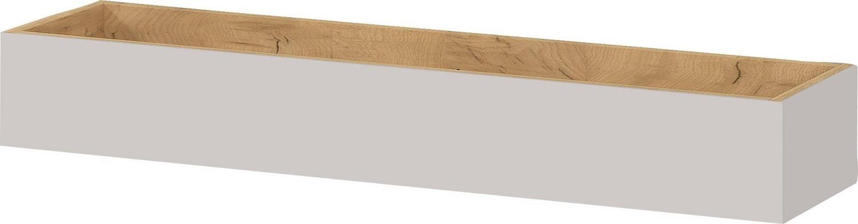 Wandplank Mesa 101 cm breed in Cashmere met navarra eiken
