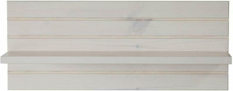 Wandplank Monaco 54 cm breed in wit whitewash