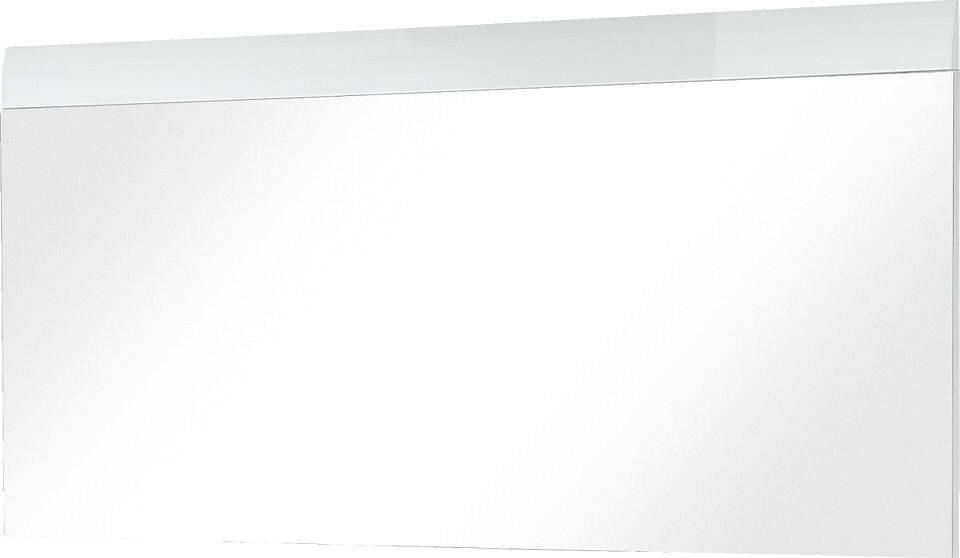 Wandspiegel Adana 134 cm breed in hoogglans wit