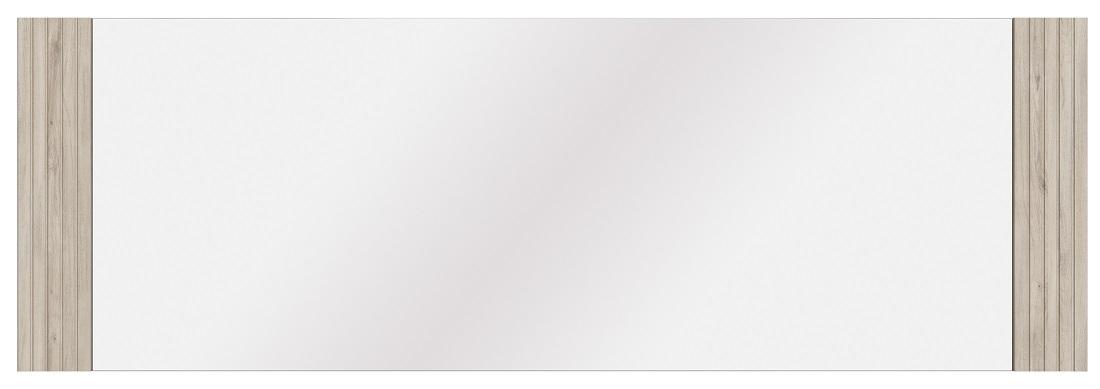 Wandspiegel Aston 180 cm breed in kronberg eiken met wit