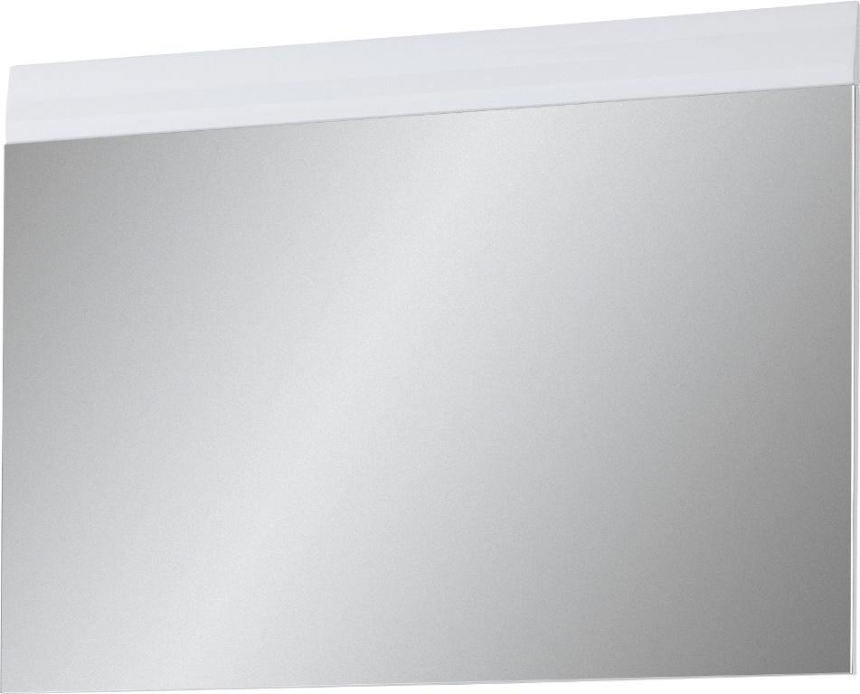 Wandspiegel Adana 89 cm breed in hoogglans wit