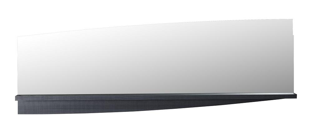 Wandspiegel Elypse 160 cm breed - Bruin eiken