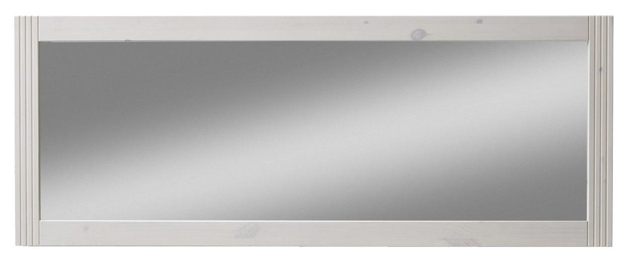 Wandspiegel Monaco 128 cm breed in wit whitewash
