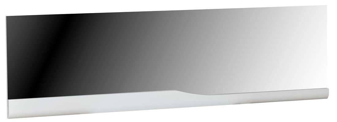 Wandspiegel Ovio 180 cm breed - Hoogglans Wit