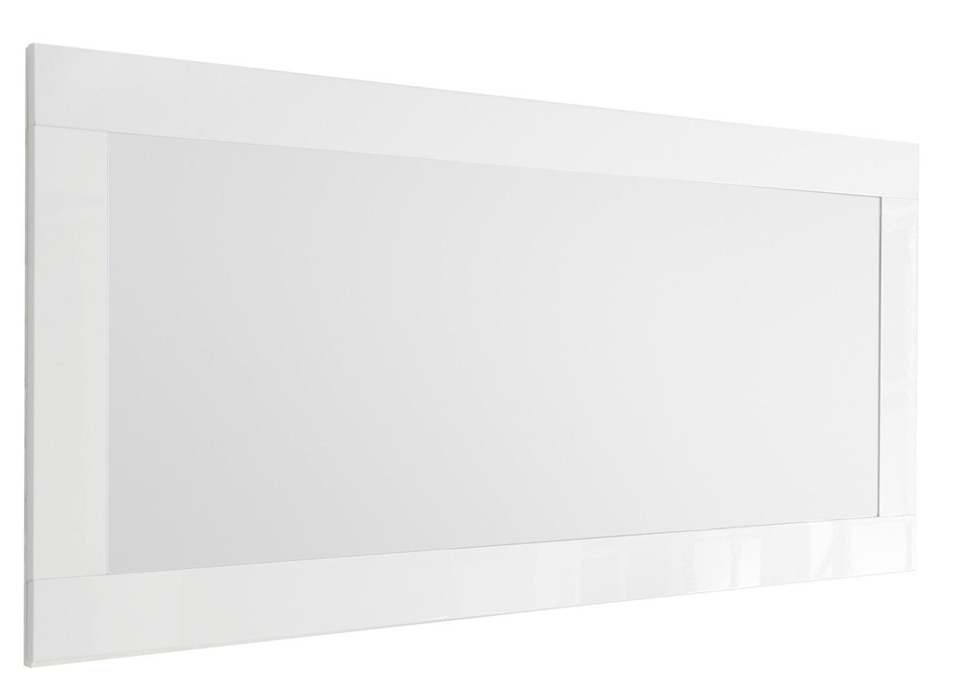 Wandspiegel Urbino 170 cm breed in hoogglans wit